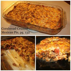 Cornbread Crusted Mexican Pie