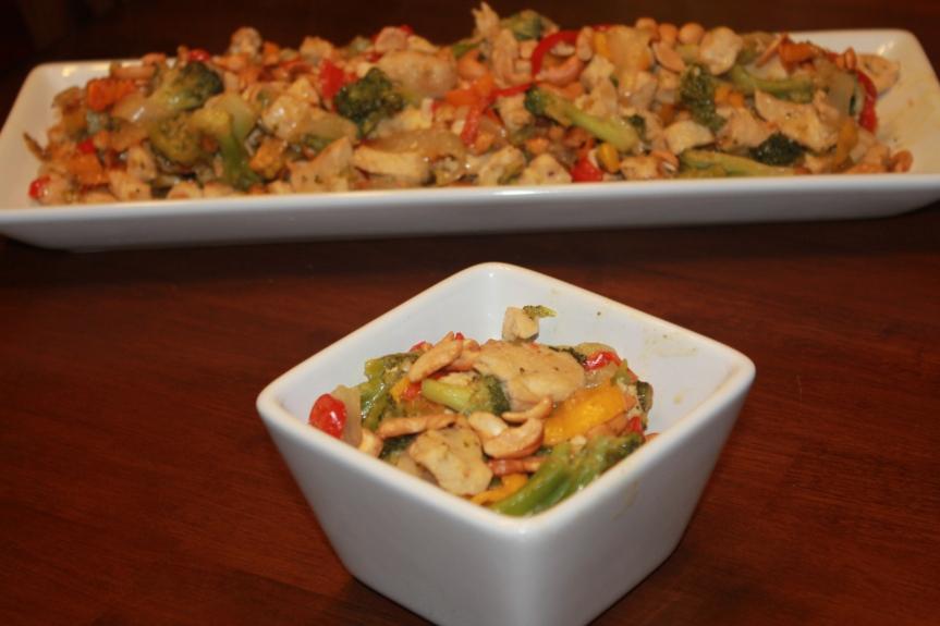 Cashew Chicken Recipe Review(THM-S)