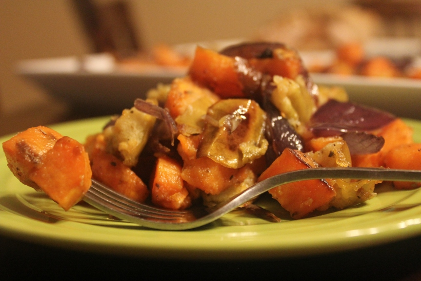 Sweet Potato and Apple Hash from My Table of Three