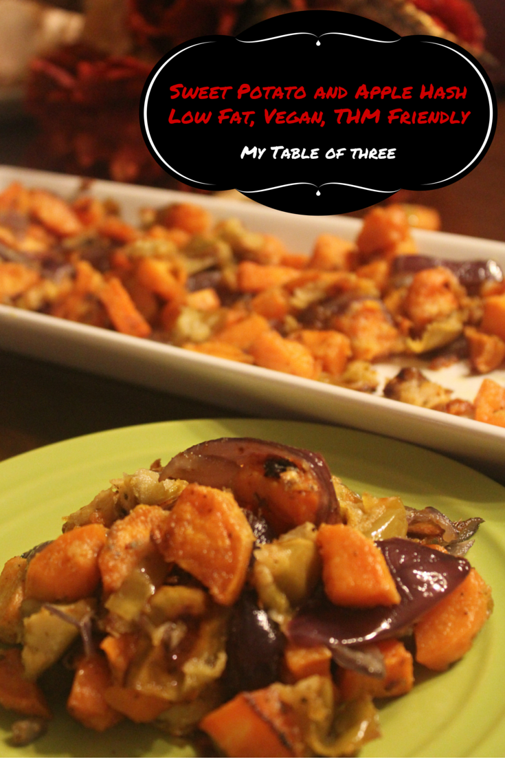 Sweet Potato and Apple Hash by My Table of Three